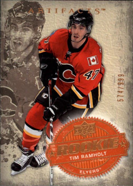 2008-09 Artifacts #214 Tim Ramholt RC