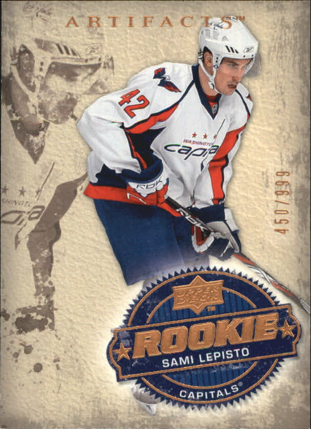 2008-09 Artifacts #216 Sami Lepisto RC