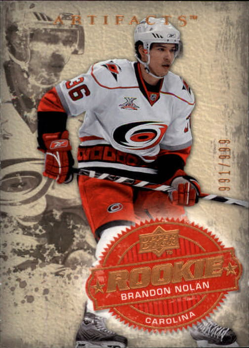 2008-09 Artifacts #218 Brandon Nolan RC