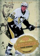 2008-09 Artifacts #223 Chris Minard RC