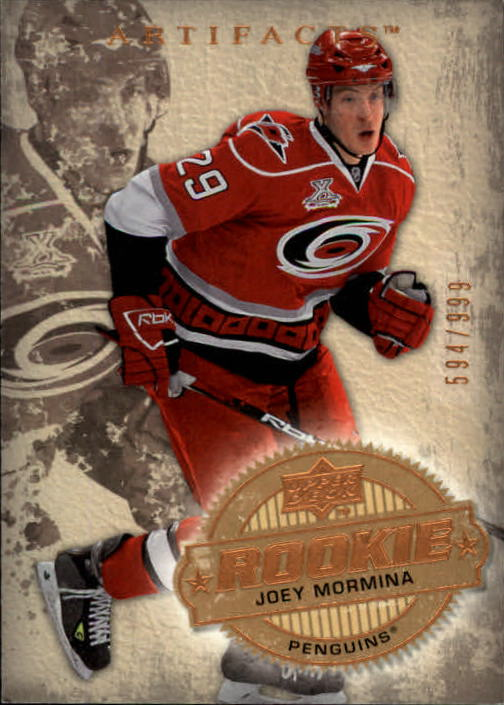 2008-09 Artifacts #224 Joey Mormina RC