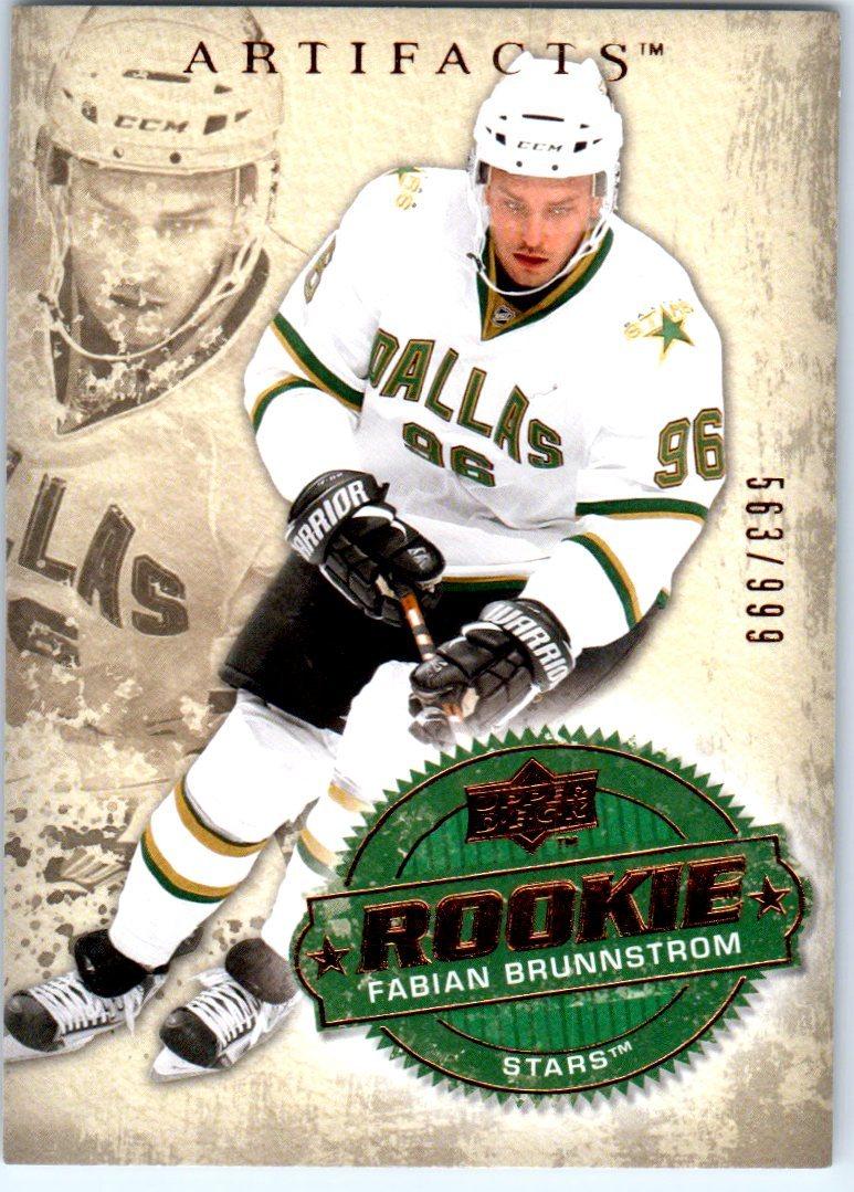2008-09 Artifacts #291 Fabian Brunnstrom RC