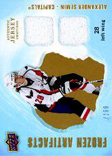 2008-09 Artifacts Frozen Artifacts Dual #FADAS Alexander Semin