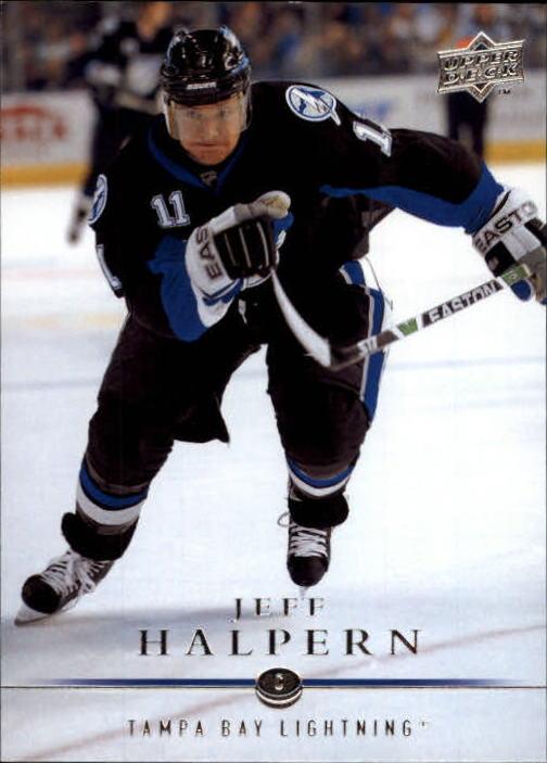 2008-09 Upper Deck #26 Jeff Halpern
