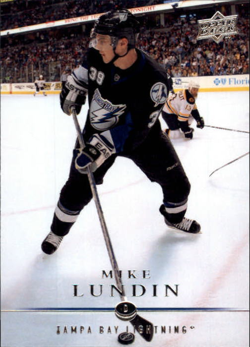 2008-09 Upper Deck #27 Mike Lundin