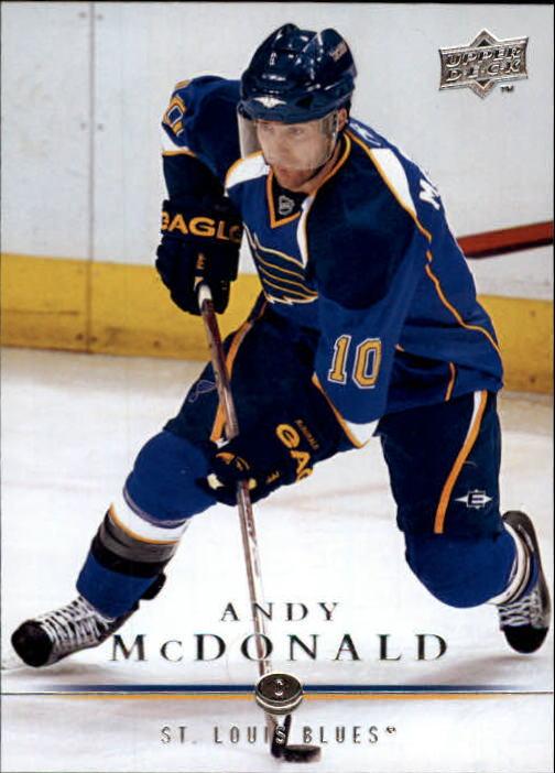 2008-09 Upper Deck #33 Andy McDonald