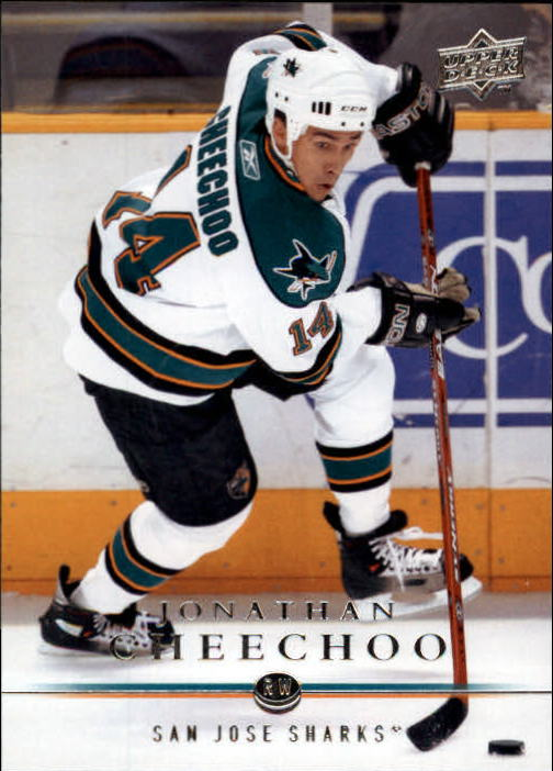 2008-09 Upper Deck #38 Jonathan Cheechoo