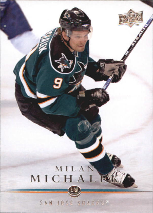 2008-09 Upper Deck #39 Milan Michalek