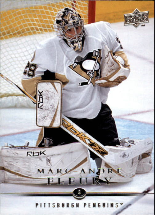 2008-09 Upper Deck #43 Marc-Andre Fleury