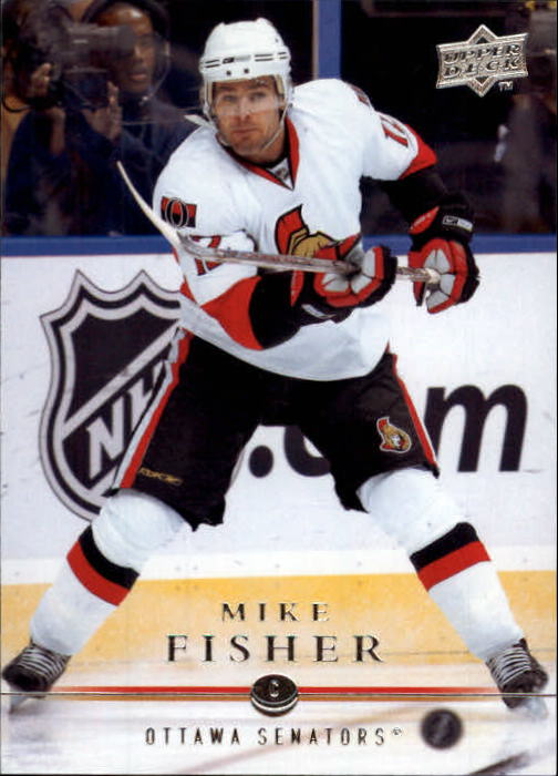 2008-09 Upper Deck #64 Mike Fisher