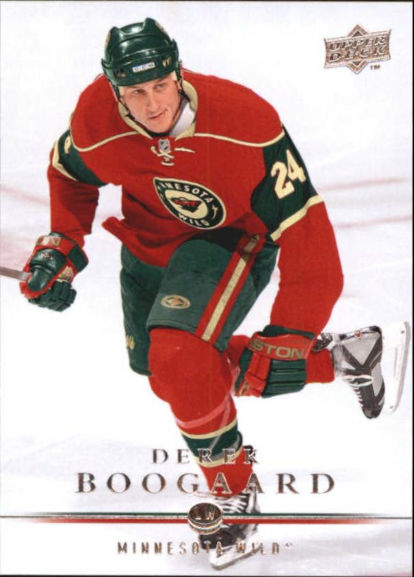 2008-09 Upper Deck #352 Derek Boogaard