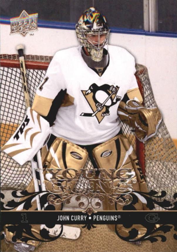2008-09 Upper Deck #489 John Curry YG RC