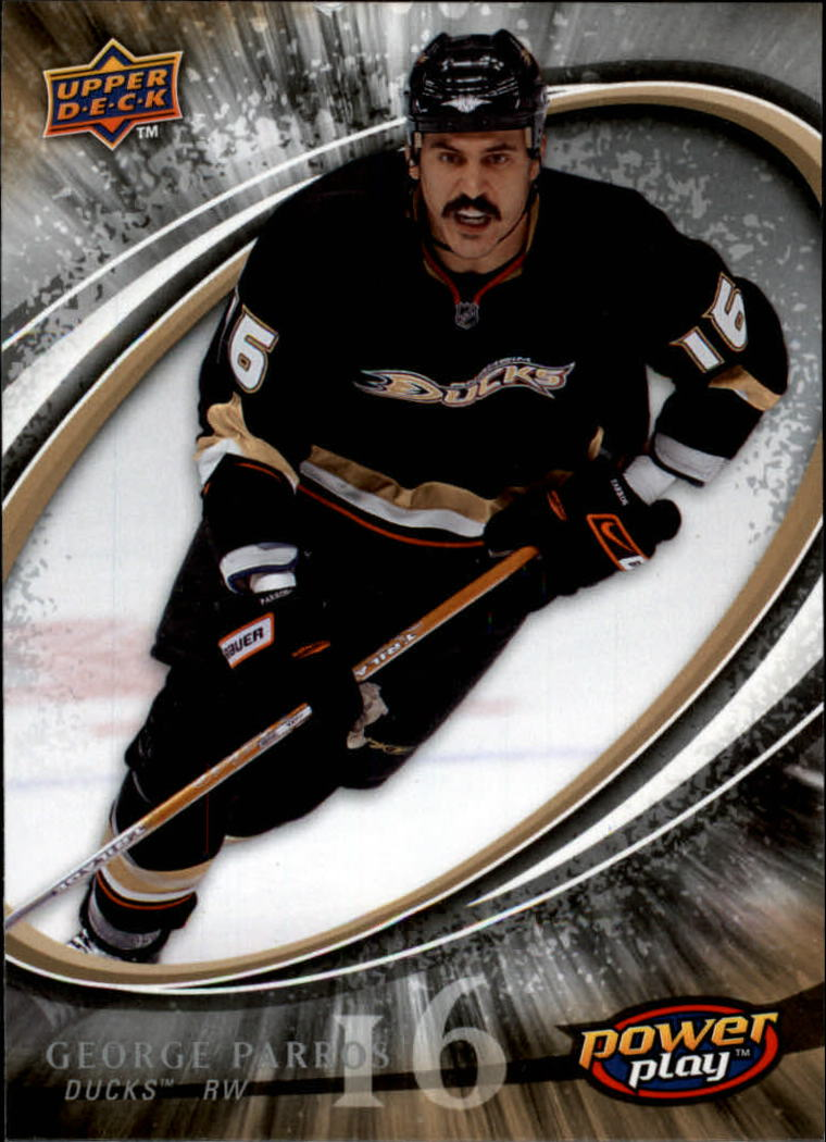 2008-09 Upper Deck Power Play #2 George Parros