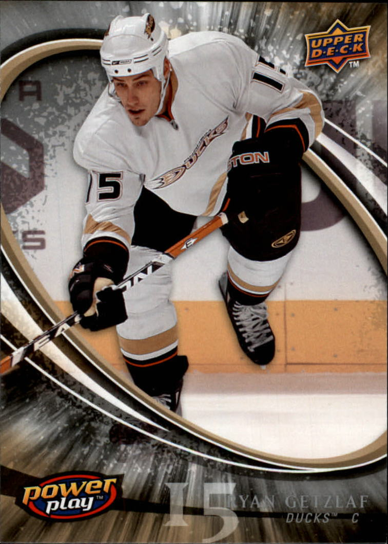 2008-09 Upper Deck Power Play #4 Ryan Getzlaf