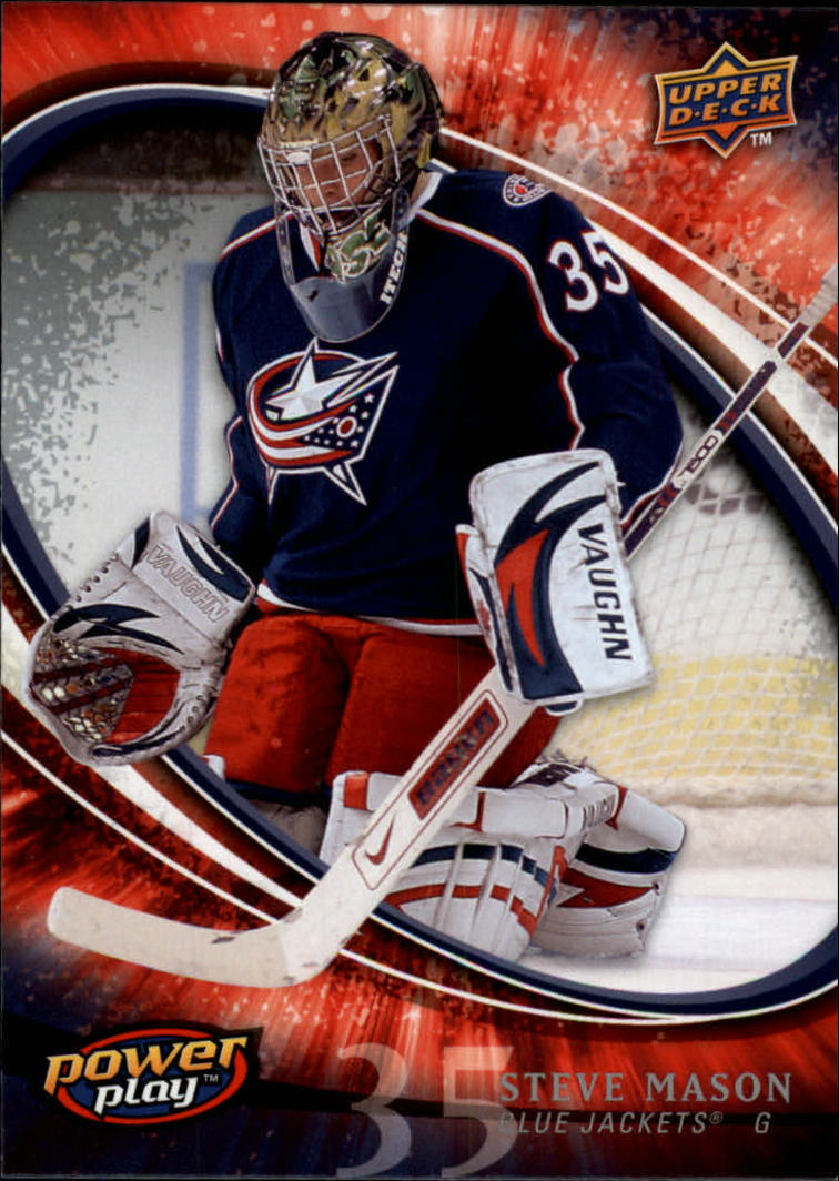 2008-09 Upper Deck Power Play #83 Steve Mason RC