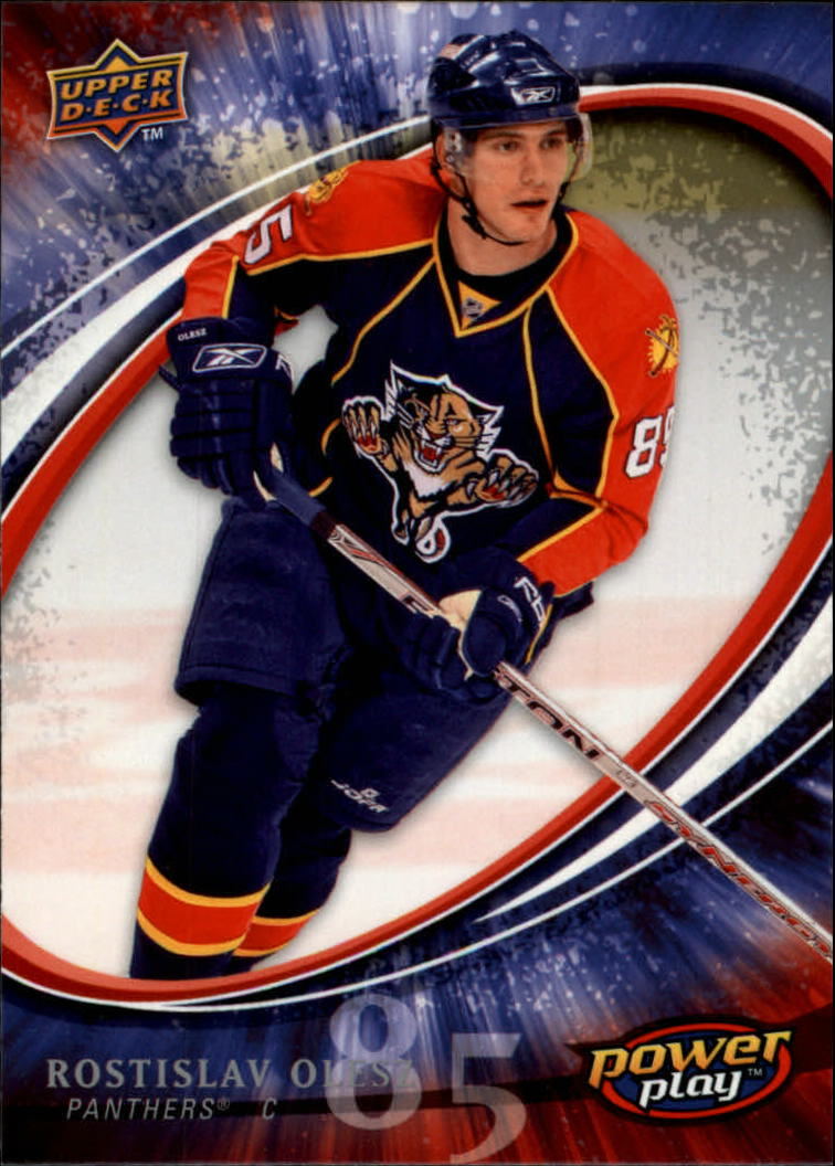 2008-09 Upper Deck Power Play #128 Rostislav Olesz