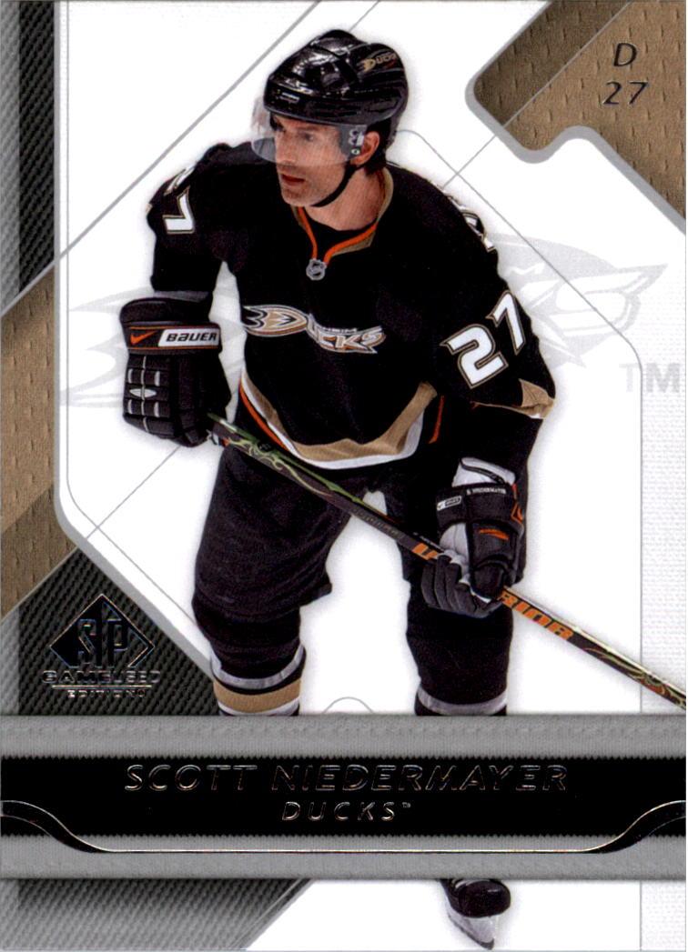 2008-09 SP Game Used #1 Scott Niedermayer