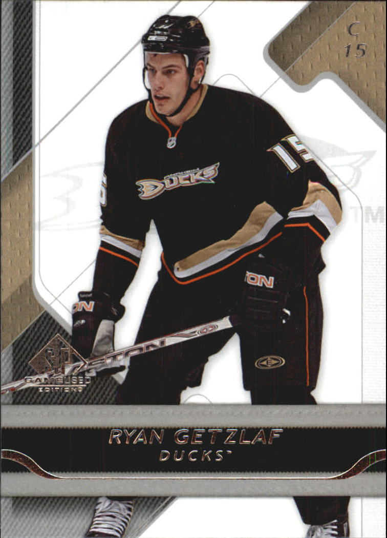 2008-09 SP Game Used #4 Ryan Getzlaf