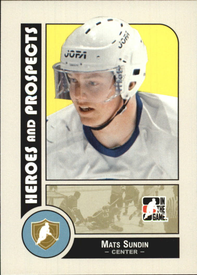 2008-09 ITG Heroes and Prospects #1 Mats Sundin
