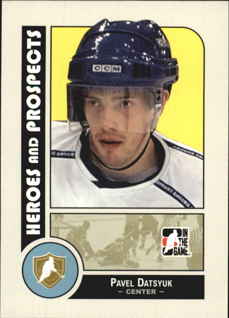 2008-09 ITG Heroes and Prospects #3 Pavel Datsyuk