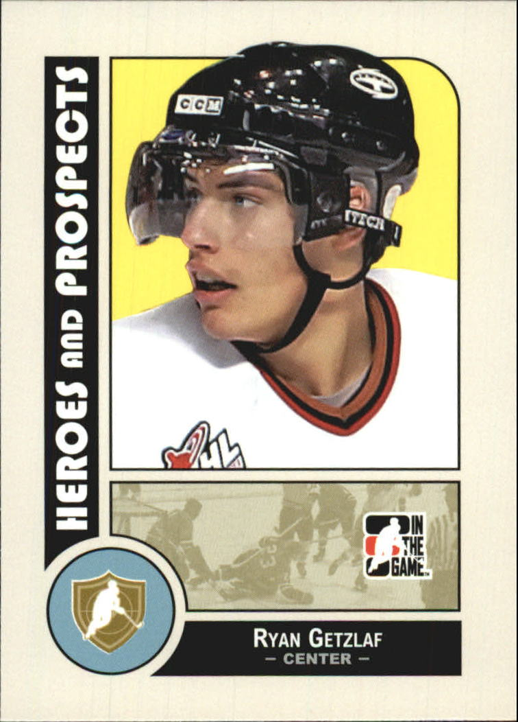2008-09 ITG Heroes and Prospects #4 Ryan Getzlaf