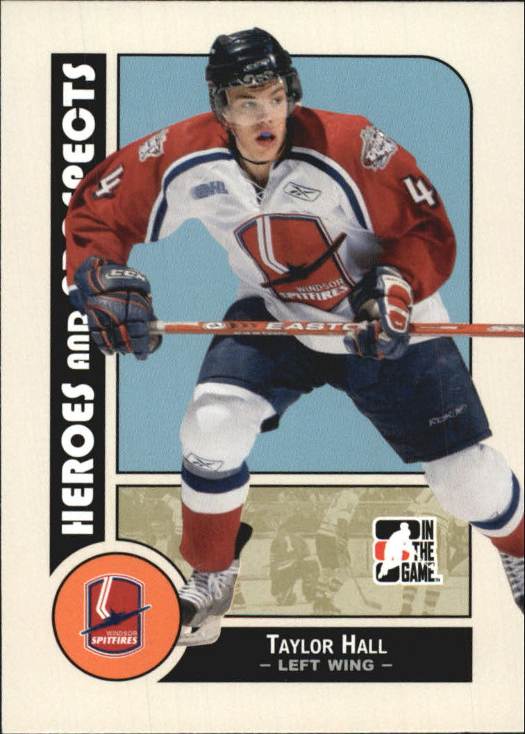 2008-09 ITG Heroes and Prospects #58 Taylor Hall