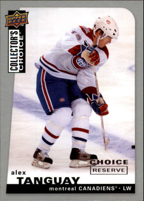 2008-09 Collector's Choice Reserve Silver #4 Alex Tanguay