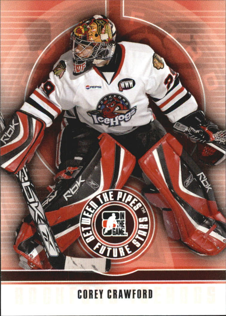 2008-09 Between The Pipes #11 Corey Crawford