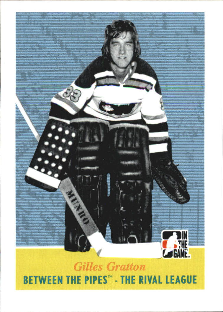 2008-09 Between The Pipes #96 Gilles Gratton