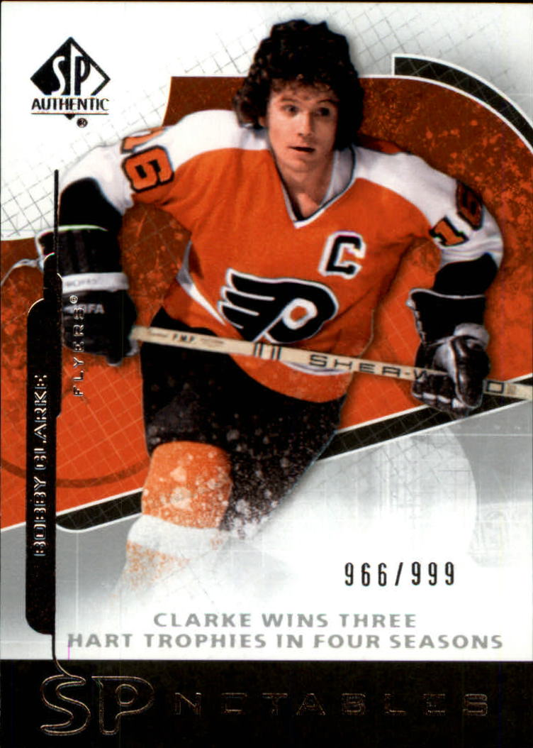 2008-09 SP Authentic #103 Bobby Clarke N