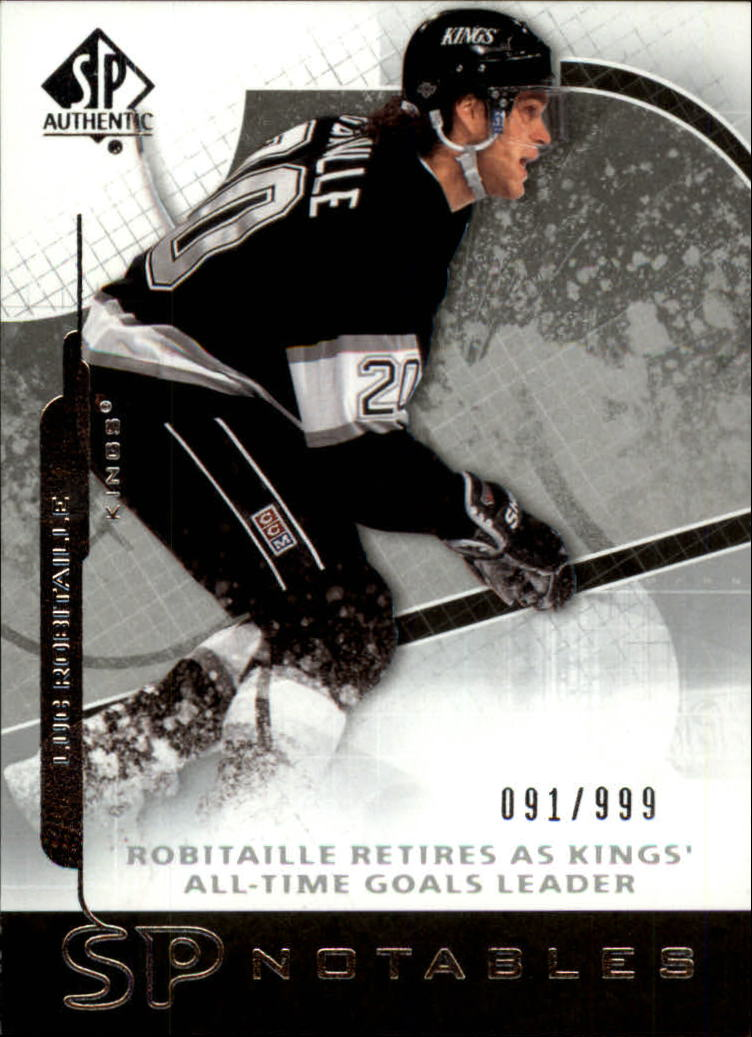 2008-09 SP Authentic #125 Luc Robitaille N