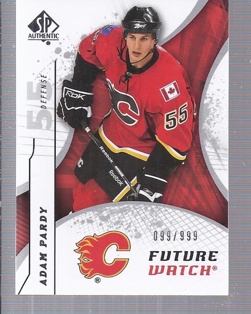 2008-09 SP Authentic #161 Adam Pardy RC