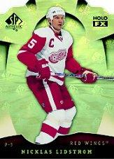 2008-09 SP Authentic Holoview FX Die Cuts #FX59 Nicklas Lidstrom