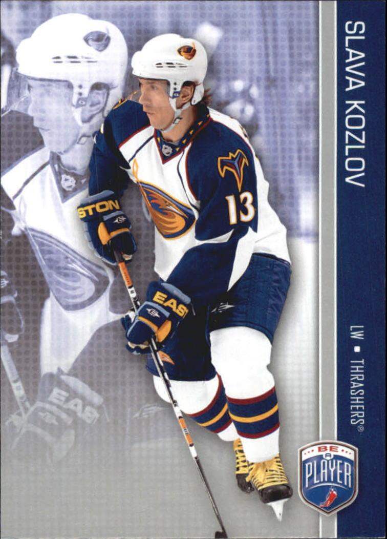 2008-09 Be A Player #11 Slava Kozlov