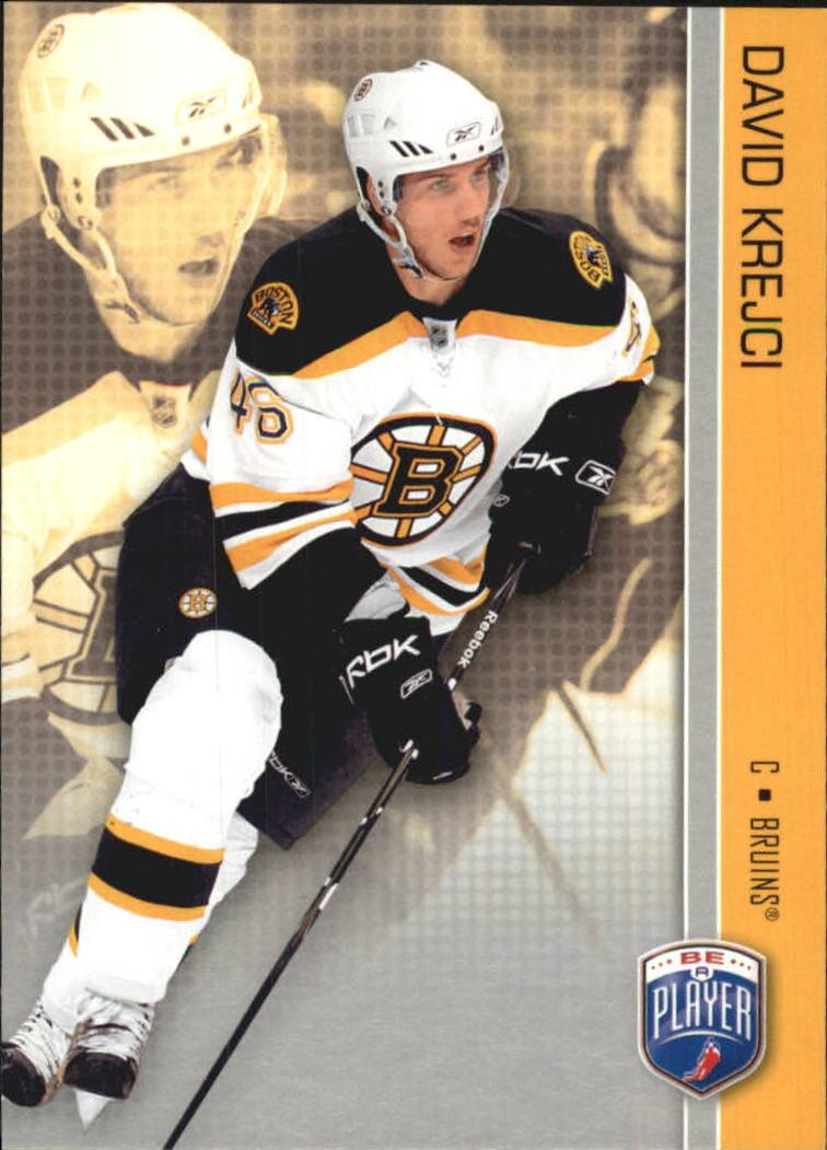 2008-09 Be A Player #15 David Krejci