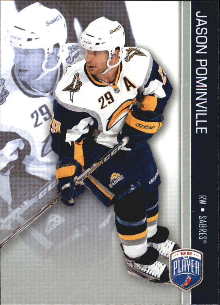 2008-09 Be A Player #22 Jason Pominville