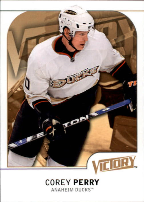 2009-10 Upper Deck Victory #4 Corey Perry