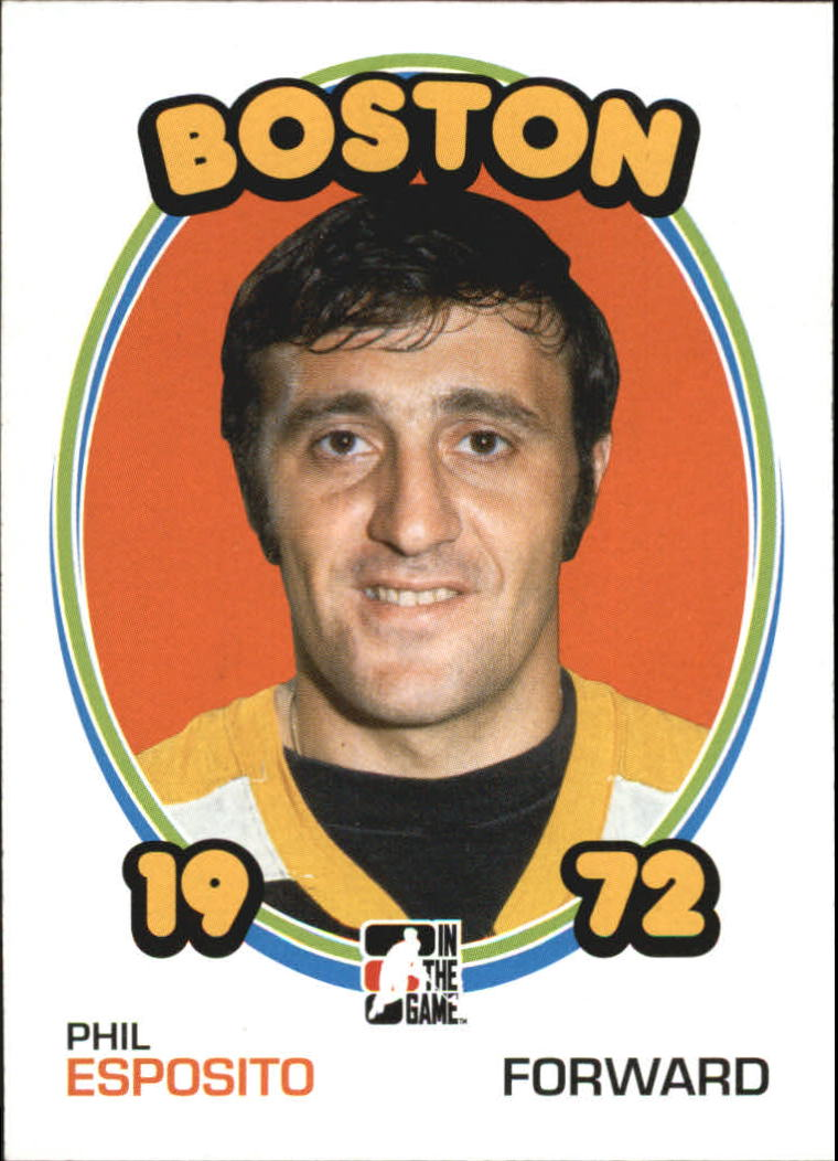 2009-10 ITG 1972 The Year In Hockey #1 Phil Esposito