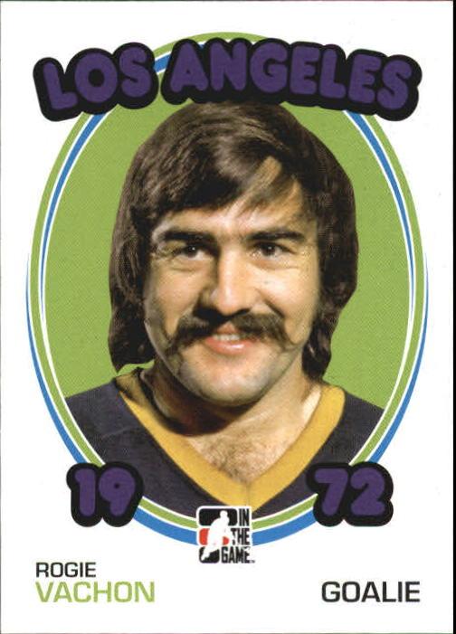 2009-10 ITG 1972 The Year In Hockey #80 Rogie Vachon