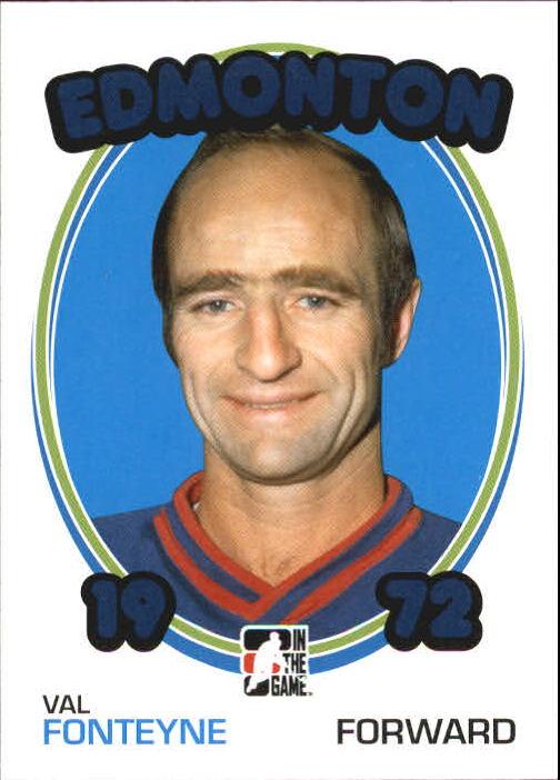 2009-10 ITG 1972 The Year In Hockey #136 Val Fonteyne