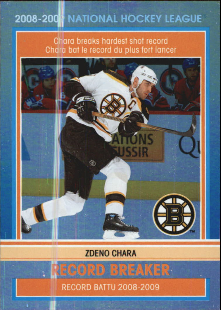 2009-10 O-Pee-Chee Record Breakers #RB1 Zdeno Chara