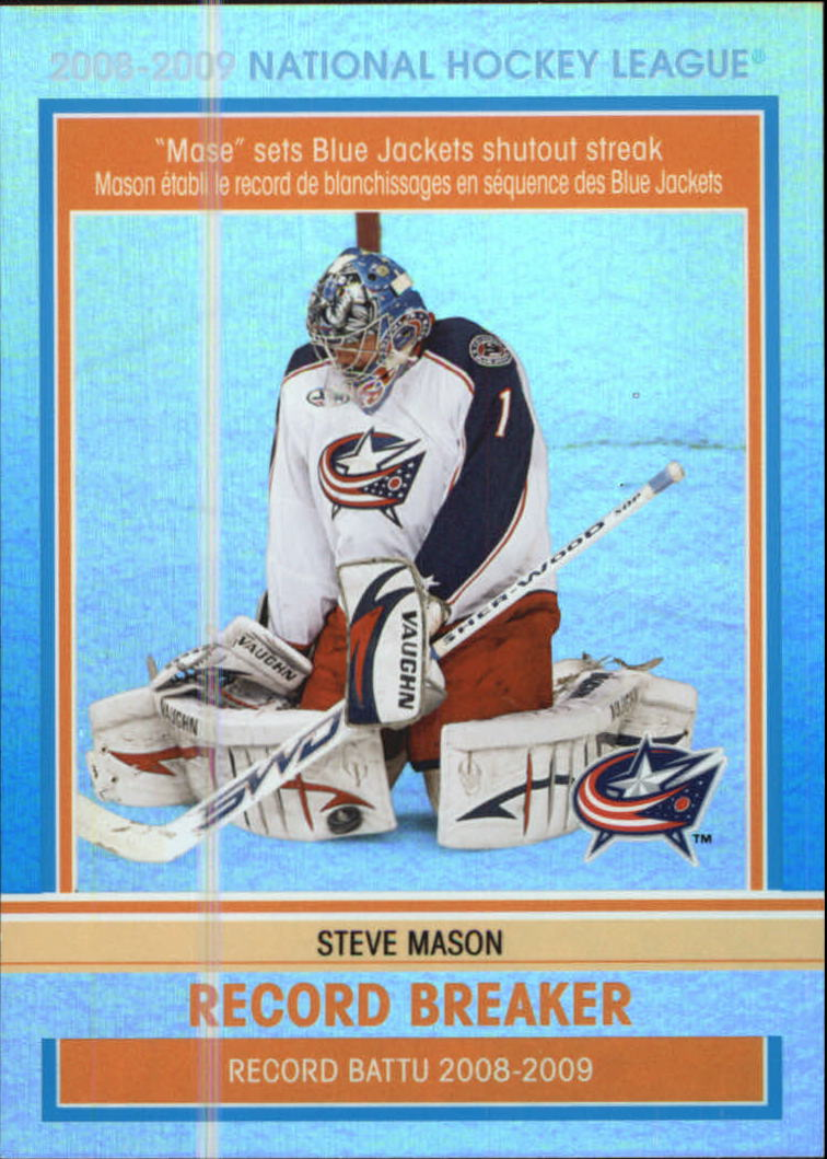 2009-10 O-Pee-Chee Record Breakers #RB3 Steve Mason