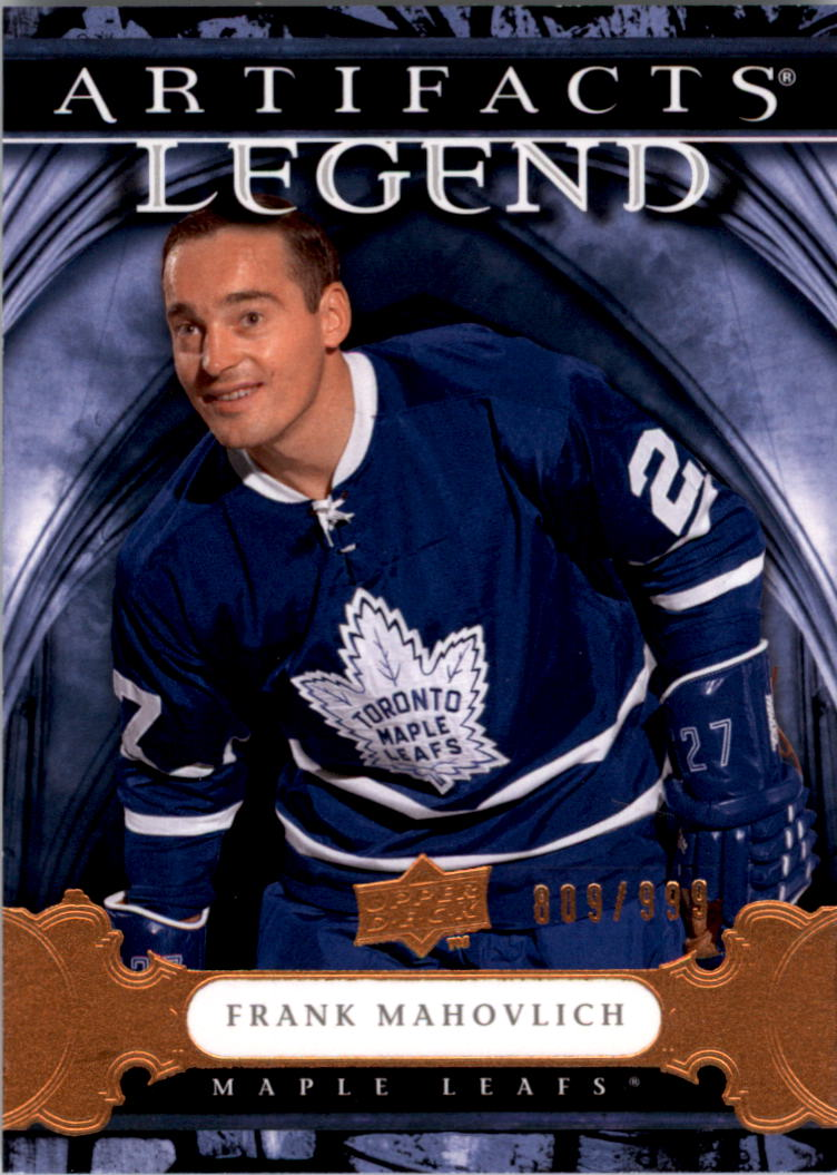 2009-10 Artifacts #117 Frank Mahovlich L