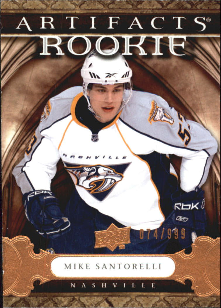 2009-10 Artifacts #155 Mike Santorelli RC
