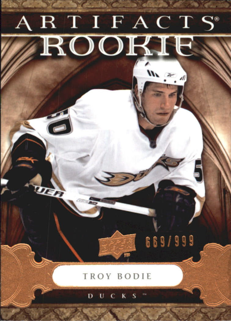 2009-10 Artifacts #157 Troy Bodie RC
