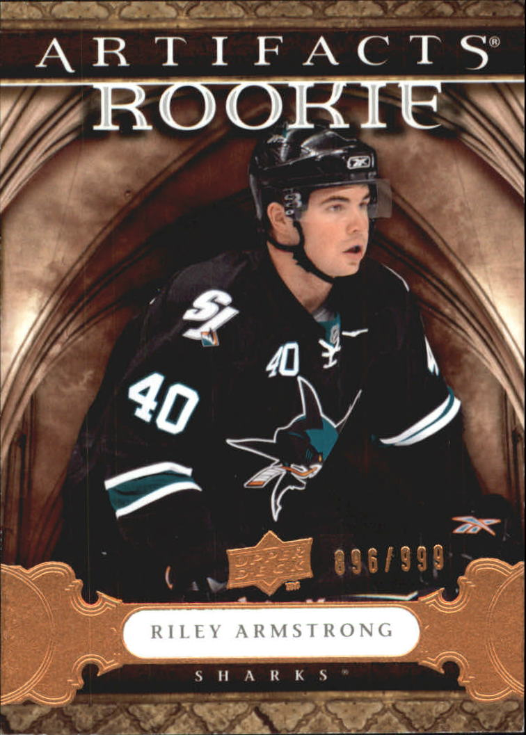 2009-10 Artifacts #166 Riley Armstrong RC