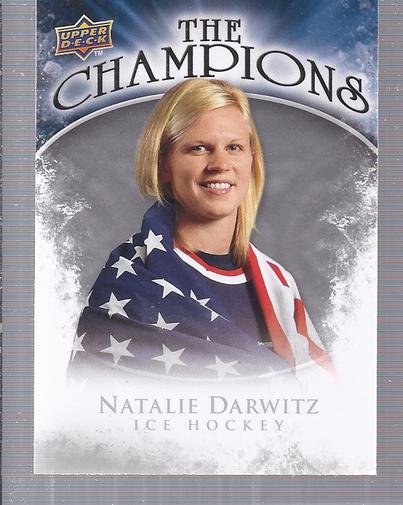 2009-10 Upper Deck The Champions #CHND Natalie Darwitz