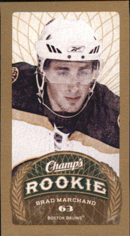 2009-10 Upper Deck Champ's #194 Brad Marchand RC