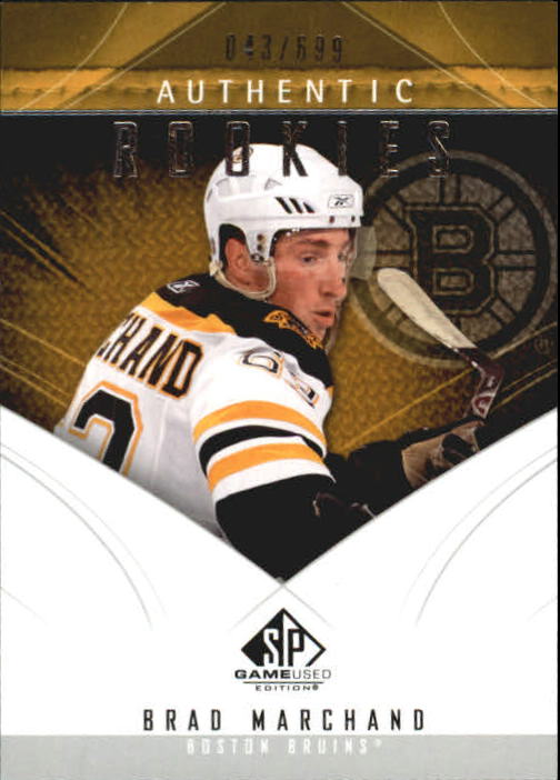 2009-10 SP Game Used #182 Brad Marchand RC