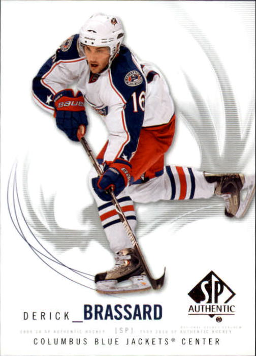 2009-10 SP Authentic #94 Derick Brassard